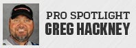 Pro Spotlight: Greg Hackney