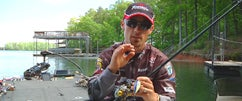John Crews Fishing His Spro Fat John At Lake Lanier