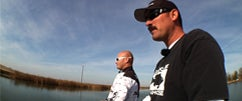 Fishing The Jackall Bling with Lintner and Tosh Part 1