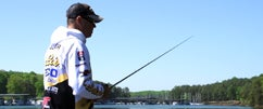 Fishing with Sunline Pro David Walker at Lanier Part 2