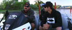 Fishing Clear Lake with Lintner & Ike Part 1