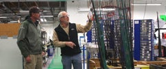 G. Loomis Factory Tour Part 1 - Rod Blank Construction