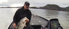 Fishing the New Curado I & IMX Rods w/ Jared Part 3