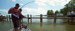 Jared & Ike Fishing on Upper Chesapeake Bay Part 1