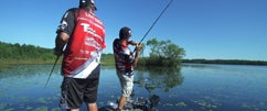 Jared & Ike Fishing on