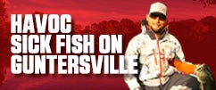 Lake Guntersville  with Justin Lucas Part 1