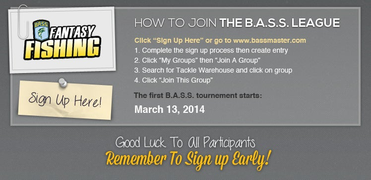 Join the B.A.S.S League