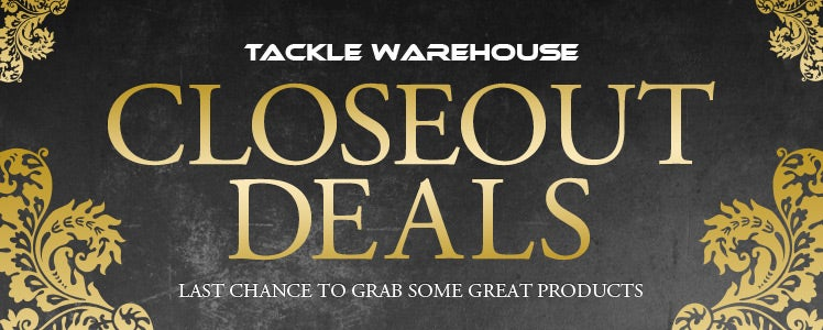 Tackle Warehouse Closeout Deals