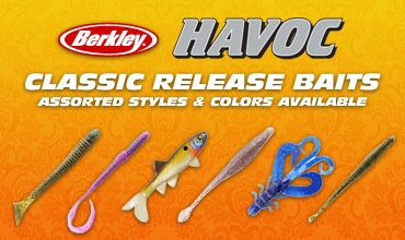 Berkley Havoc - Classic Release Juice Worm, Smash Tube, Hawk Hog