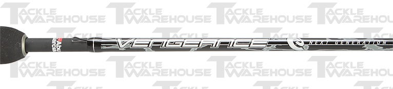 Abu Garcia Vengeance 2-piece Spinning Rods