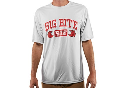 Big Bite Bait Pro Staff Microfiber T-Shirt
