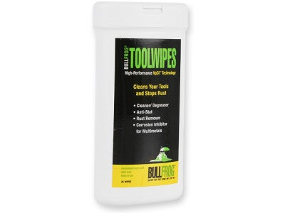 Bullfrog Tool Wipes 25 ct.