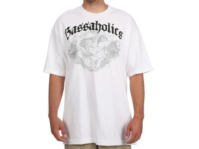 Bassaholics Bass Splash Short Sleeve T-Shirt