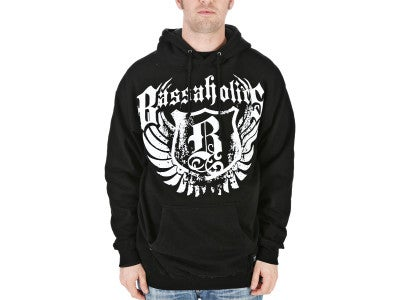 Bassaholic B Wings Pullover Hooded Sweatshirt