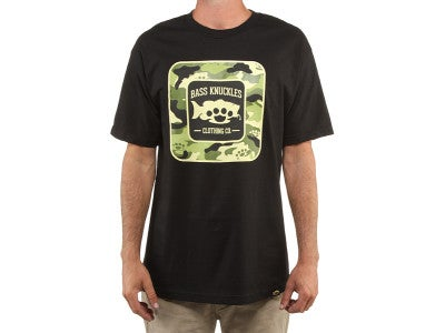 Bass Knuckles Bass Camo Short Sleeve T-Shirt
