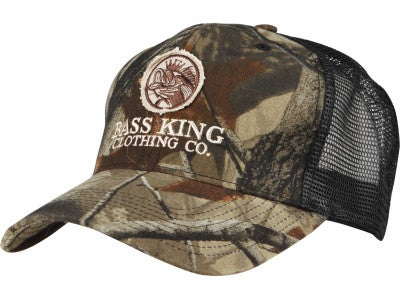 Bass King Camo Bubba Hat