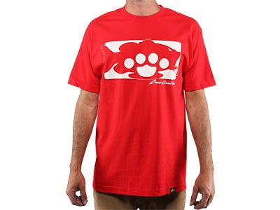 Bass Knuckles Reverse Short Sleeve T-Shirt