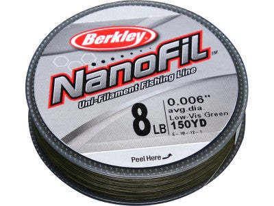 Berkley Nanofil Line Low-Vis Green