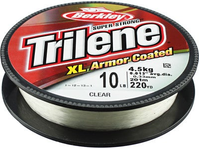 Berkley Trilene XL Armor Coated Line Clear