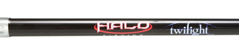 Halo Fishing Twilite Casting Rods Black