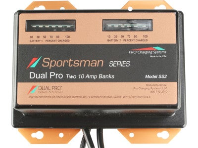 Dual Pro On Board Battery Charger Sportsman Series