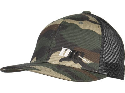 Dedicated 10 Bait Camo Trucker Hat