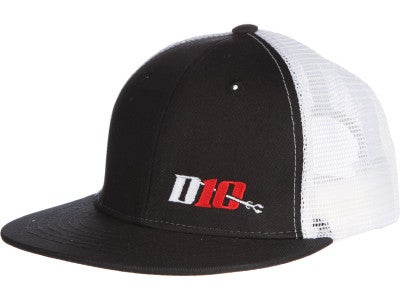 Dedicated 10 Trucker Hat Black/White