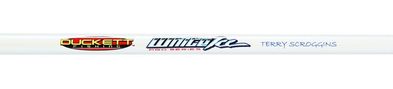 Duckett White Ice Spinning Rods