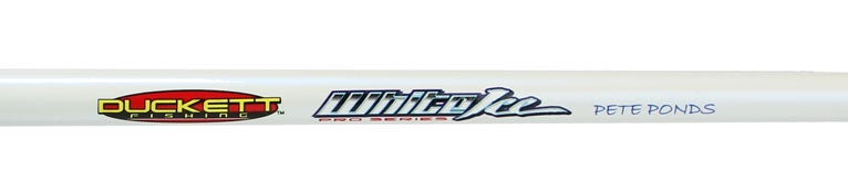 Duckett White Ice Casting Rods