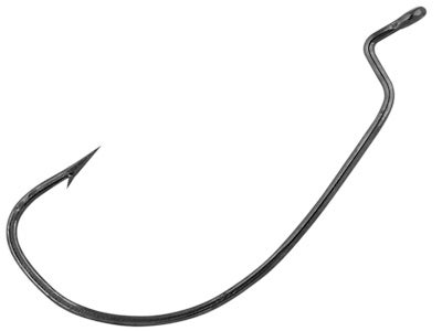 Eagle Claw Lazer Sharp Wide Gap Worm Hook 6pk