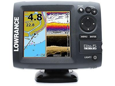 Lowrance Elite-5 CHIRP Fishfinder/Chartplotter