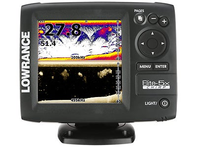 Lowrance Elite-5x CHIRP Fishfinder