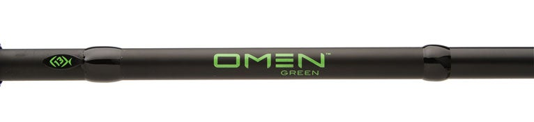 13 Fishing Omen Green Spinning Rods