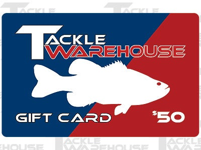 Tackle Warehouse Gift Card $50