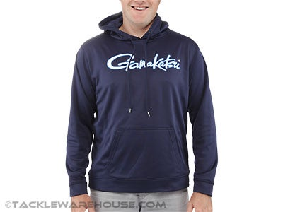 Gamakatsu Hooded Performance Sweatshirt Navy