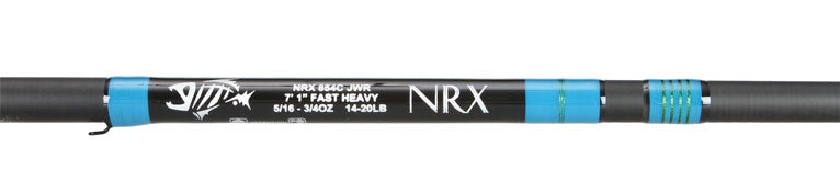 G. Loomis NRX Casting Rods Blue