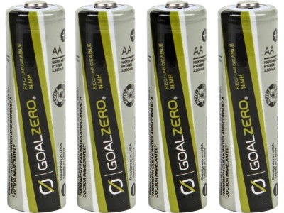 Goal Zero Rechargeable AA Batteries