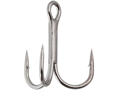Gamakatsu 2X Strong Round Bend Treble Hooks