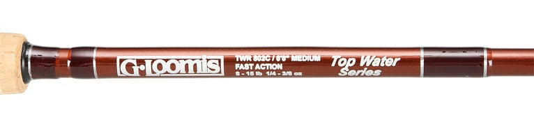 G. Loomis Topwater Series Casting Rods