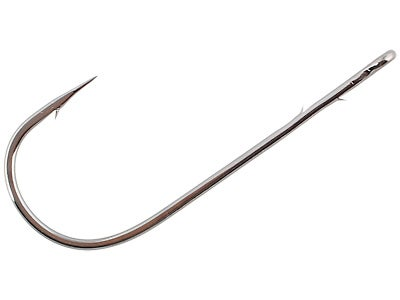 Gamakatsu Worm Hook Round Bend Black