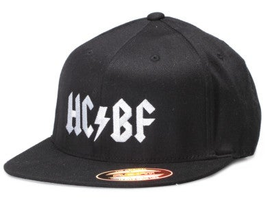 Hardcore Bass Fishing Original Flat Bill Flex Fit Hat