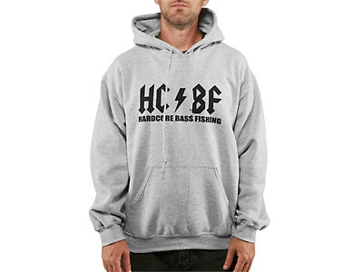 Hardcore Bass Fishing Original Hooded Sweatshirt