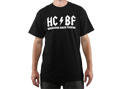 Hardcore Bass Fishing Original Short Sleeve T-Shirt