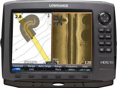 Lowrance Gen2 HDS-10 Series Sonar/Chartplotters