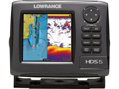 Lowrance Gen2 HDS-5 Series Sonar/Chartplotters