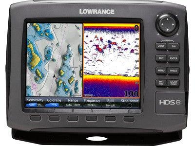 Lowrance Gen2 HDS-8 Series Sonar/Chartplotters