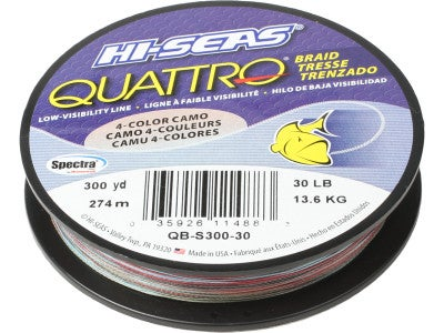 HI-SEAS Quattro Braid 300yd