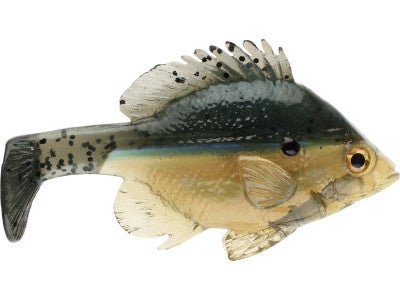 Jerry Rago Bluegill Line Through Paddle Tail