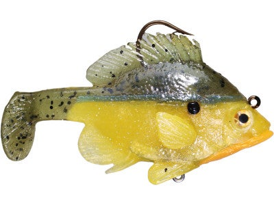 Jerry Rago Bluegill Top Hook Paddle Tail