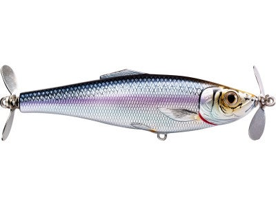 Koppers Live Target Blueback Herring Double Prop